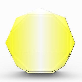 V pendiente bilinearia - amarillo y blanco