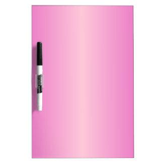 V pendiente bilinearia - rosado y rosa claro pizarras blancas