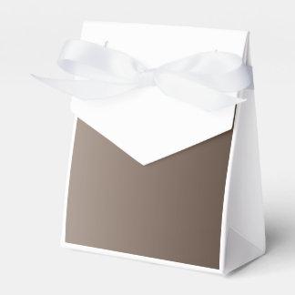 V pendiente linear - marrón clara a Brown oscuro Paquetes De Regalo Para Fiestas