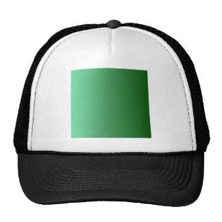 V pendiente linear - verde clara a verde oscuro gorros bordados