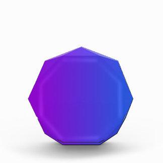 V pendiente linear - violeta al azul