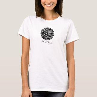 V Power Icon Maze | Be Exquisite T-Shirt