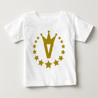 V-real-stars-crown.png Baby T-Shirt