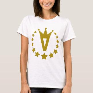 V-real-stars-crown.png T-Shirt