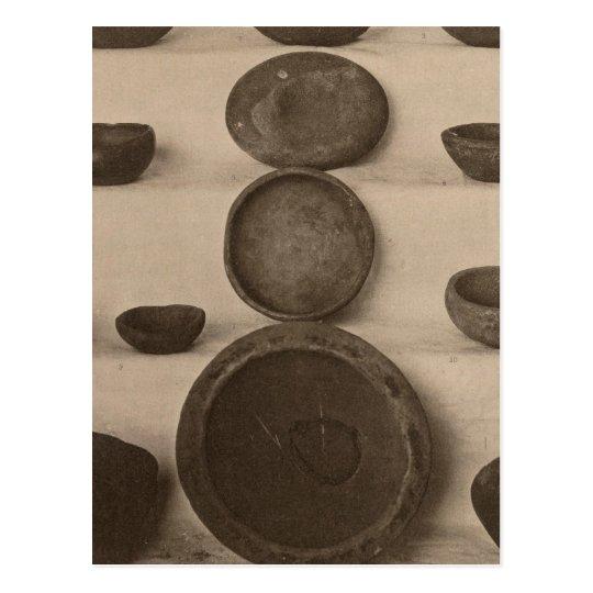 V Stone vessels, So California Postcard