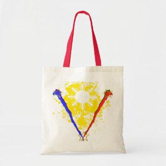 """""""V"""" style Philippine Flag Bag"""