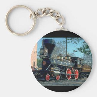 V&T 4-4-0 #22, 1860's._Trains Keychain
