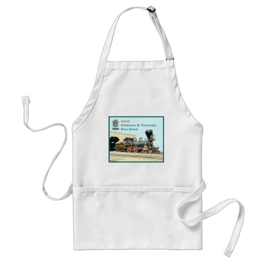 V&T Railroad Inyo engine Adult Apron