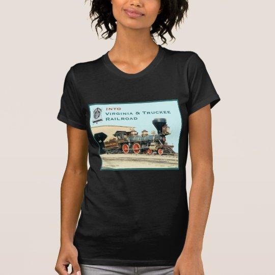 V&T Railroad Inyo engine T-Shirt
