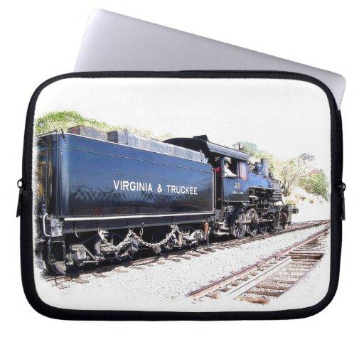 V & T Steam Locomotive Laptop Computer Sleeve