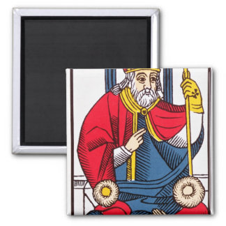 V The Pope, Tarot card Magnet