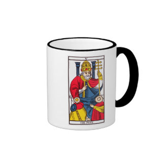 V The Pope, Tarot card Mug