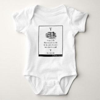 V was a villa baby bodysuit