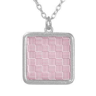 V y rayas de H - cordón rosado y Puce Grimpola