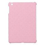 V y zigzag de H - palidezca - rosa y rosa del clav iPad Mini Cárcasa