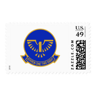 va-128 Golden Intruders Stamp
