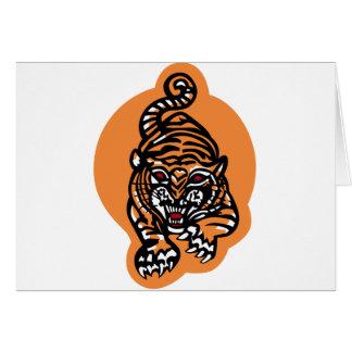 VA-65 los tigres que luchan famosos Tarjeta