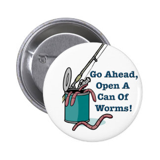 Va a continuación la poder abierta de A del botón Pin Redondo De 2 Pulgadas