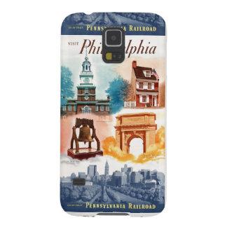 Va a Phila.on el ferrocarril de Pennsylvania Funda De Galaxy S5