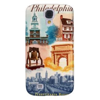 Va a Phila.on el ferrocarril de Pennsylvania Funda Para Galaxy S4