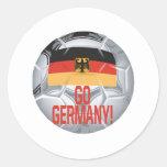 Va Alemania Pegatina Redonda