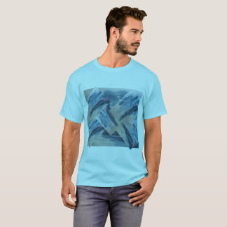 Va-cA designer blue tee for him by DAL