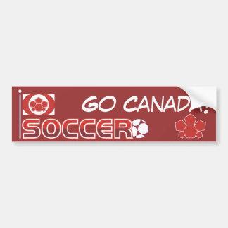 ¡Va Canadá! Pegatina De Parachoque