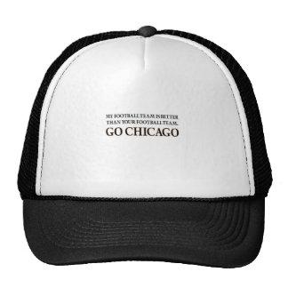 VA CHICAGO (la barajadura negra) Gorros
