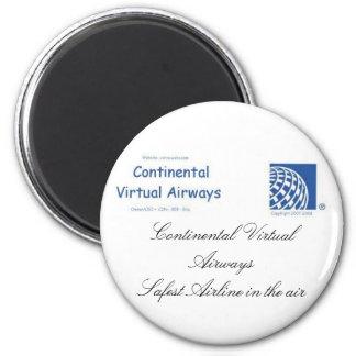 VA continental Magnant Imán Redondo 5 Cm