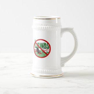 Va el Anti-Césped verde Tazas De Café