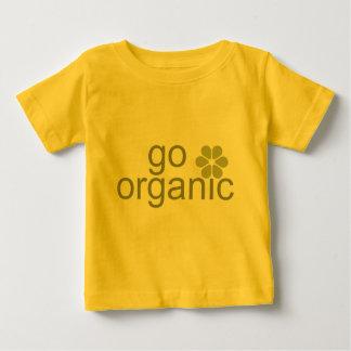 Va el bebé orgánico playera para bebé