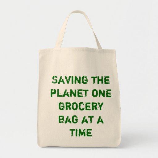 Va el bolso de ultramarinos verde bolsa de mano