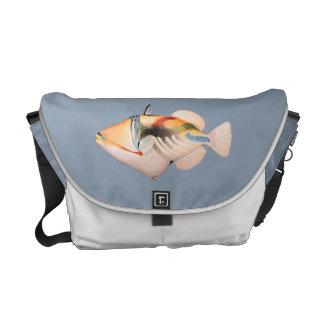 Va el bolso del carrito de los pescados - Hawaiian Bolsas De Mensajería