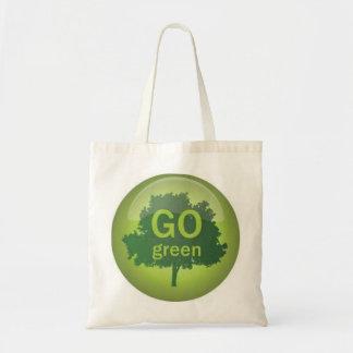 Va el bolso natural verde bolsa tela barata
