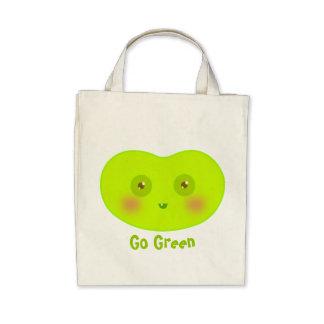Va el bolso verde del Jellybean orgánico Bolsas
