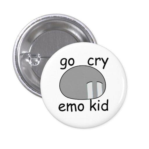 Va el botón de Dango del niño de Emo del grito Pins