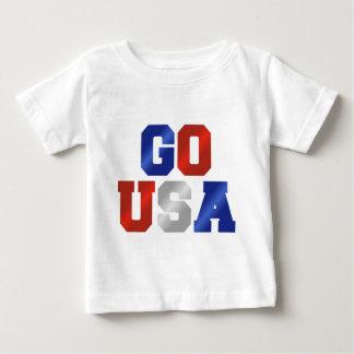 VA el camisetas blanco de los E.E.U.U. y azul rojo