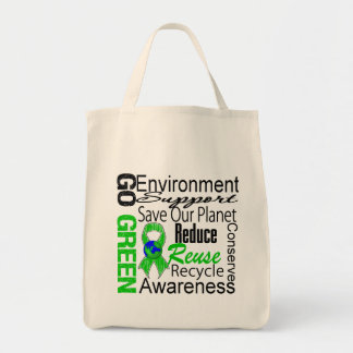 Va el collage verde bolsas