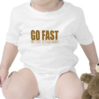 va el competir con rápido del óxido nitroso traje de bebé