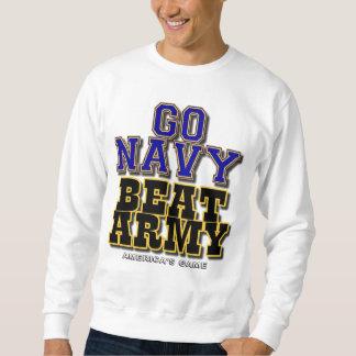 Va el ejército del golpe de la marina de guerra - sudadera