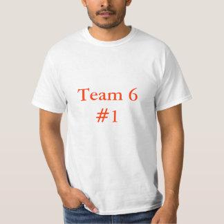 Va el equipo 6 playera
