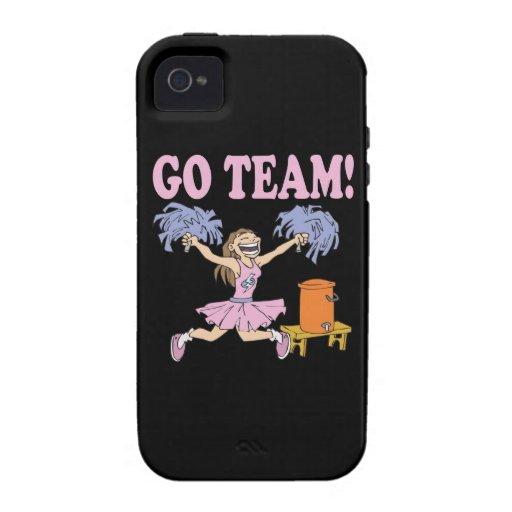 Va el equipo vibe iPhone 4 fundas