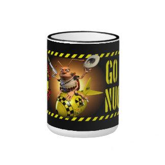 Va el estilo nuclear de la cucaracha tazas de café