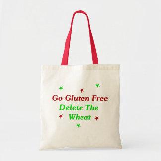 Va el gluten libre: Suprima el trigo Bolsa Tela Barata