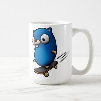 Va el Gopher Tazas De Café