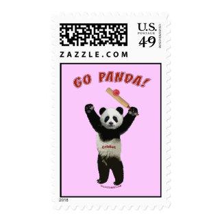 Va el grillo del oso de panda franqueo
