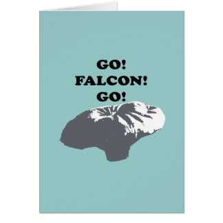Va el halcón va tarjetas