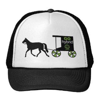¡Va el híbrido! Caballo y carro Gorro