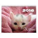 Va el ~ lindo va calendario de los gatitos 2016