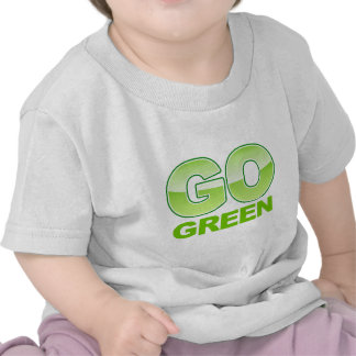 Va el logotipo verde camisetas